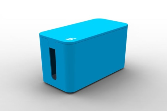 BLUELOUNGE CABLE BOX MINI BLUE (CBM-BLU)