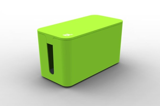 BLUELOUNGE CABLE BOX MINI GREEN (CBM-GRN)