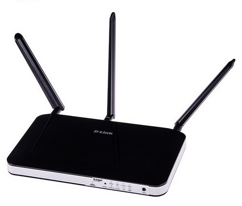 D-Link Wireless AC750 4G LTE Multi-WAN Router, integrated modem, SIM
