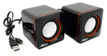 AIREN AiSound Cube - USB portable speakers (USB reproduktory)