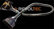 Revoltec Floppy Silver Cable rounded, 48 cm