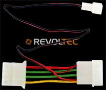 Revoltec 3pin to 4pin AdapterCable 12V to 7V (RC021)