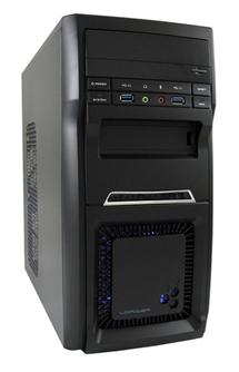 LC POWER 2000MB Microtower 420W Black
