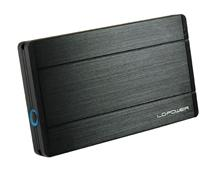 LC POWER LC-25U3-Diadem box pro 2,5 HDD SATA USB 3.0 Black