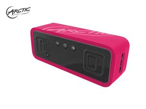 ARCTIC S113BT PINK - Portable Bluetooth speaker with NFC pairing