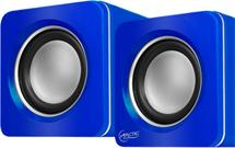 ARCTIC S111 (Blue) - Portable USB powered speakers