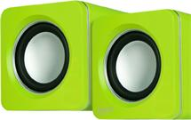 ARCTIC S111 (Lime) - Portable USB powered speakers