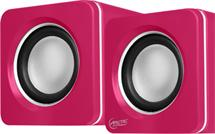 ARCTIC S111 (Pink) - Portable USB powered speakers