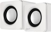 ARCTIC S111 (White) - Portable USB powered speakers