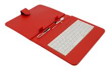 "AIREN AiTab Leather Case 2 with USB Keyboard 8"" RED (CZ/SK/DE/UK/US.. layout)"
