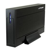 LC POWER LC-35U3-Sirius box pro 3,5 HDD SATA USB 3.0 Black
