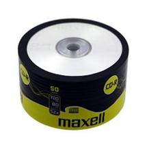 CD-R Maxell 700 MB, celofán 50 ks