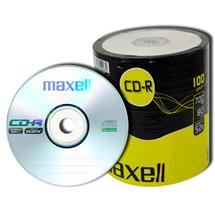 CD-R Maxell 700 MB, celofán 100 ks