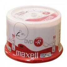 DVD-R Maxell Printable 4,7 GB, 16x cake 50 ks