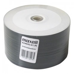 CD-R Maxell 700 MB, Printable NO-ID, celofan 50 ks