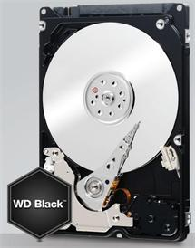WD Black WD5000LPLX 500GB HDD 2.5'', SATA/600, 7200RPM, 32MB cache
