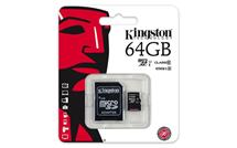Kingston micro SDXC karta 64GB Class 10 UHS-I + adaptér