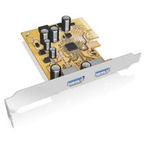 Icy Box USB 3.1 PCI-E expansion card with 2x Type-A interface