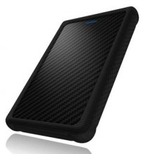 Icy Box External 2,5'' HDD/SSD case SATA, USB 3.0, protection sleeve, Black