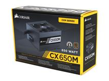 Corsair CX650M Semi-Modular ATX Power Supply, 100-240V, 650W