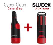 Complete Care in design - Cyberclean CameraCare + Sweex LCD Cleaner 150ml