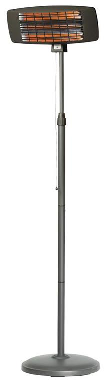 Quartz Patio Heater 2000 W Black