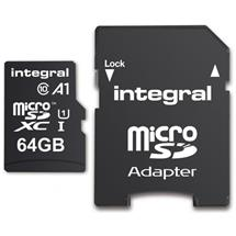 Integral microSDHC/XC A1 App Performance 64GB (s adaptérom na SD kartu)