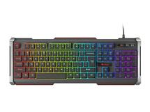 Keyboard GENESIS RHOD 400 GAMING RGB Backlight USB, US layout