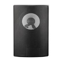 Qoltec SUPER BASS TWO WAY WALL SPEAKER| RMS 10W | 15cm | 8 Om | TRAFO | black