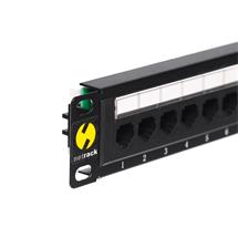 Netrack patchpanel 10'', 12 - ports cat. 5e UTP LSA, without bracket