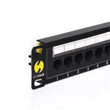 Netrack patchpanel 10'', 12 - ports cat. 6 UTP LSA, without bracket