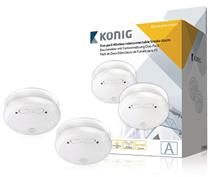 König duo-pack wireless interconnectable smoke alarm