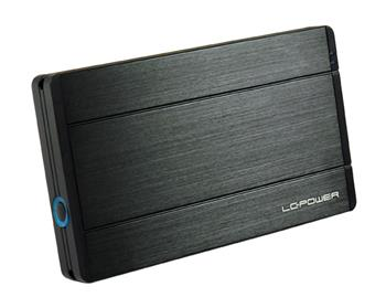 LC POWER LC-25U3-Hydra box pro 2,5 HDD SATA USB 3.0 Black