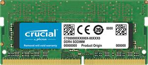 Crucial 16Gb, 2400MHz DDR4, CL17, DRx8, SODIMM, 260pin