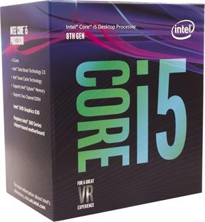 Intel Core i5-8400, Hexa Core, 2.80GHz, 9MB, LGA1151, 14nm, BOX