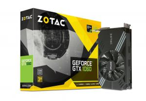 ZOTAC GeForce GTX 1060 3GB GDDR5 1506 /1708 b. DVI-D, HDMI 2.0b, 3xDisplay Port