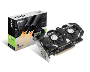 MSI GeForce GTX 1050 2GT OCV1, 2GB GDDR5, DisplayPort / HDMI / DL-DVI-D