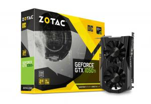 ZOTAC GeForce GTX 1050 Ti OC 128bit 4GB GDDR5 DVI-D, HDMI 2.0b, Display Port 1.4