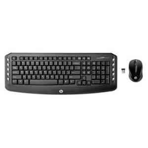 HP Wireless Desktop Set KB+Mouse+Dongle US/INT