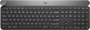Logitech Wireless Craft Advanced keyboard with creative input dial - US INT'L