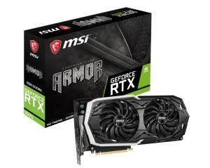 MSI GeForce RTX 2070 ARMOR 8G, 8GB GDDR6, 3xDP+HDMI+USB-C