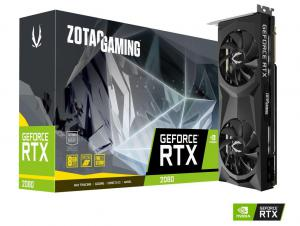 ZOTAC RTX 2080 TWIN FAN, 8GB GDDR6, 3xDP+HDMI+USB-C