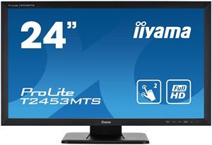 Monitor IIyama T2453MTS-B1 23.6inch, TN touchscreen, Full HD, VGA, DVI-D, HDMI