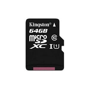 Kingston 64GB microSDXC karta Canvas Select 80R CL10 UHS-I bez adaptéra