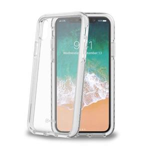 Celly HEXAGON kryt pre Apple iPhone X, TPE, biely
