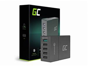 Green Cell Multi USB Charger 5xUSB Quick Charge 3.0