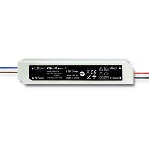 Qoltec Impulse power supply | IP67 | 100V-240V | 20W | 12V | 1.6A