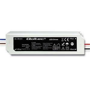 Qoltec Impulse power supply | IP67 | 100V-240V | 60W | 12V | 5A