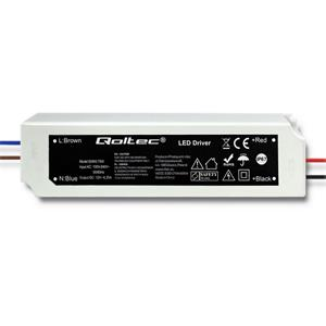 Qoltec Impulse power supply | IP67 | 100V-240V | 75W | 12V | 6.25A
