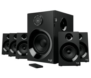 Logitech® Z607 5.1 Surround Sound Speaker System with Bluetooth, Black